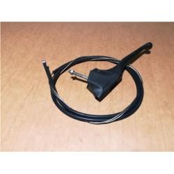 Poignée de gaz avec câble